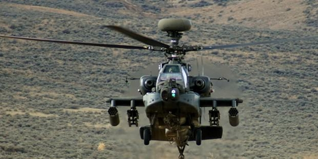 1 haftada 4. kaza: ABD'de bir askeri helikopter daha düştü