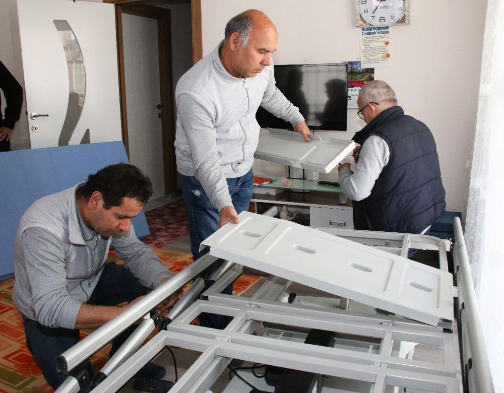 10 ayda 544 hastaya otomatik yatak yardımı yapıldı