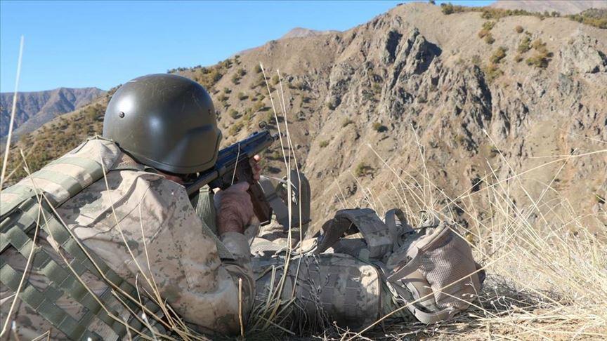 10 ayda operasyonlarla bin 313 terörist etkisiz hale getirildi