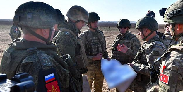10. Türk-Rus ortak askeri devriyesi tamamlandı