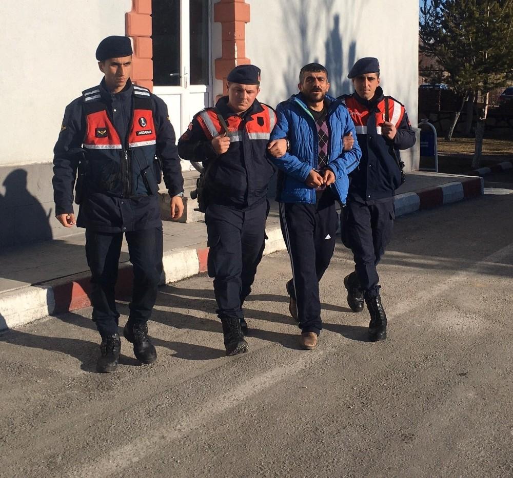 10 yıl 5 ay hapis cezası bulunan şahıs jandarma ekiplerince yakalandı