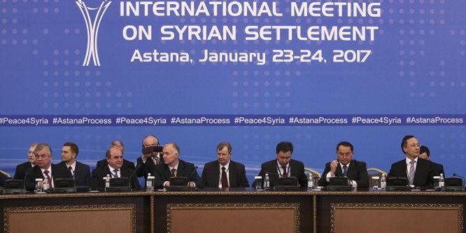 Astana görüşmeleri ikinci gününe girdi