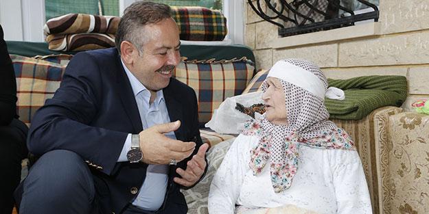 108 yaşındaki Asiye Nine'nin Erdoğan sevgisi ile ilgili görsel sonucu
