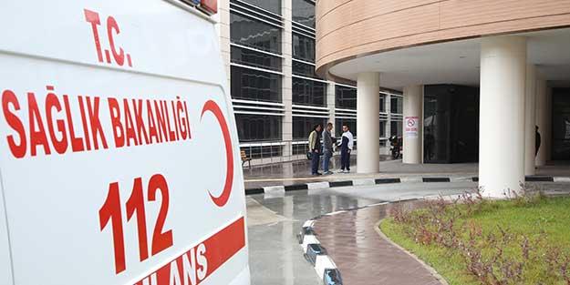 112 Acil Servis ekibi darp edildi