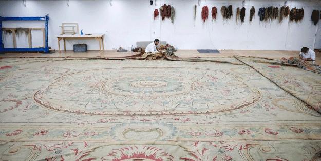 119 yıllık tarihi Osmanlı halısı restore ediliyor