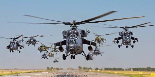 12 adet Rus Mi-35 helikopteri satın aldılar