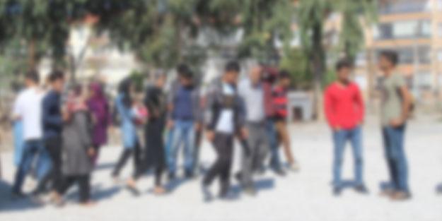 124 düzensiz göçmen yakalandı