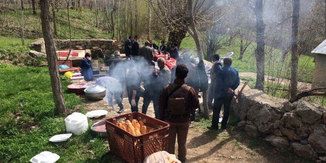 Bahçesaray'da yüzde 68'lik piknik