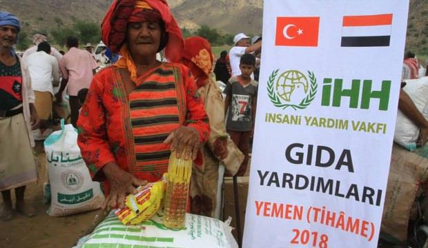 13 bin Yemenli'ye acil yardım!