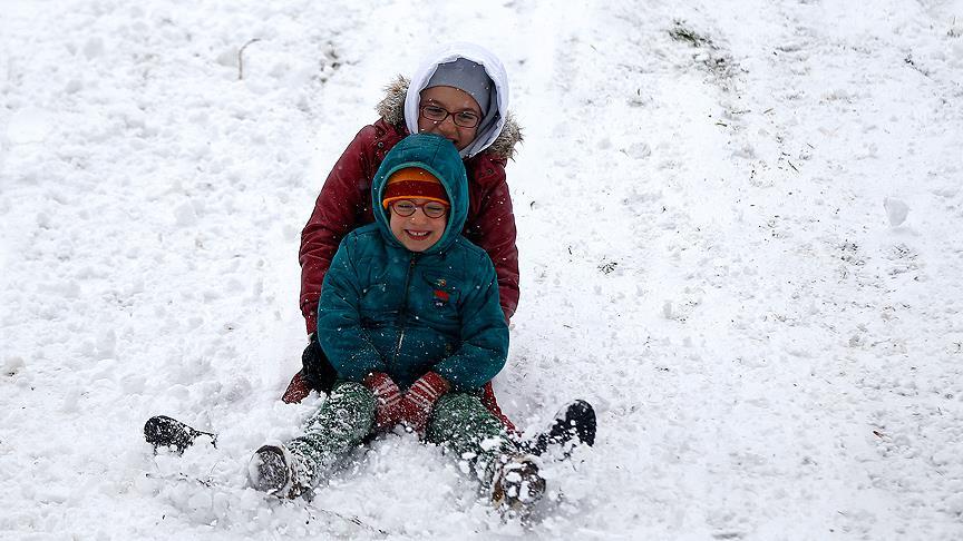 14 ilde okullara kar tatili