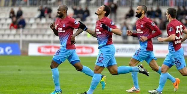Trabzonspor dört dörtlük