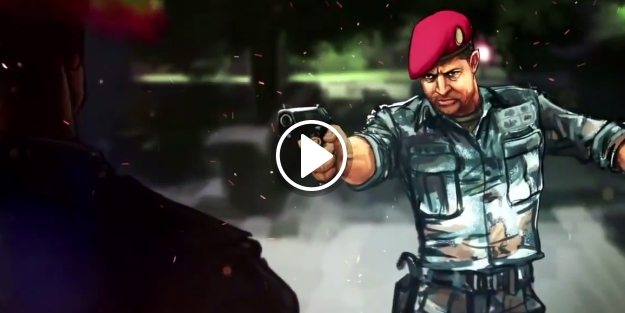 15 Temmuz darbe girişimi animasyonu