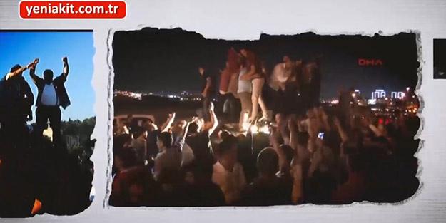 15 Temmuz şehitlerinin yakınları ve gaziler duygularını yeniakit.com.tr ile paylaştı!