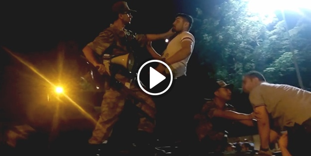 15 Temmuz'un dehşet anları: FETÖ'cü subay vatandaşı böyle vurdu!