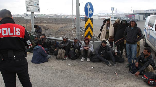 154 kaçak göçmen yakalandı
