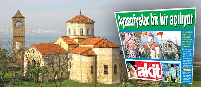 Bakanlığın Trabzon Ayasofya Camii işgali sona erdi
