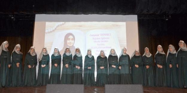 16 kız öğrenci