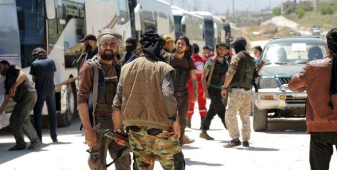 Kuşatma bölgelerinde ikinci gruplar tahliye ediliyor