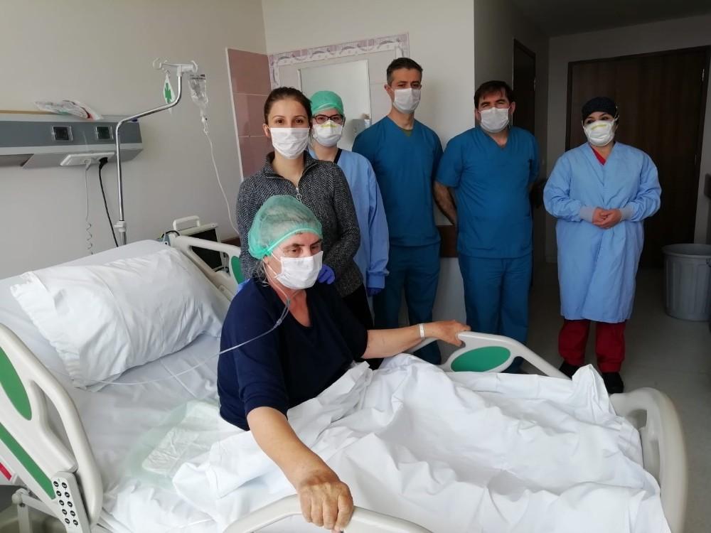 17 gün solunum cihazına bağlı kalan hasta: