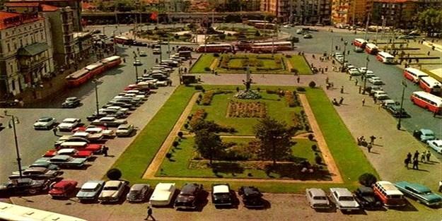 1968'de Taksim Meydanı