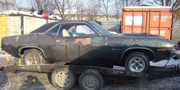 1970 model otomobilin şaşırtan değişimi