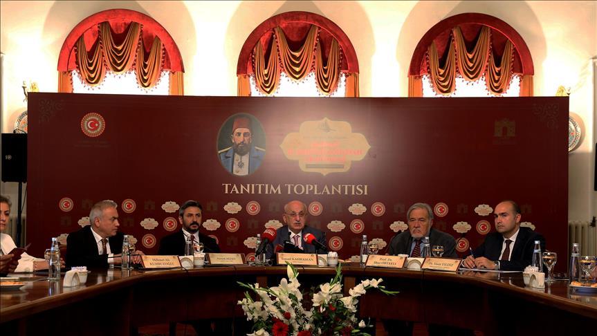 2. Abdülhamid Dolmabahçe Sarayı'nda anılacak
