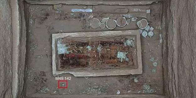 2 bin 700 yıl önce yaşamış soylunun mezarı açıldı! Çin'deki kazıda ortaya çıktı