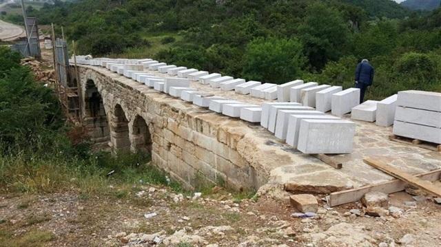 2 bin yıllık taşköprü canlanıyor