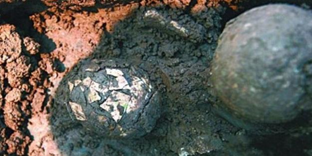 2 bin yıllık yumurta bulundu
