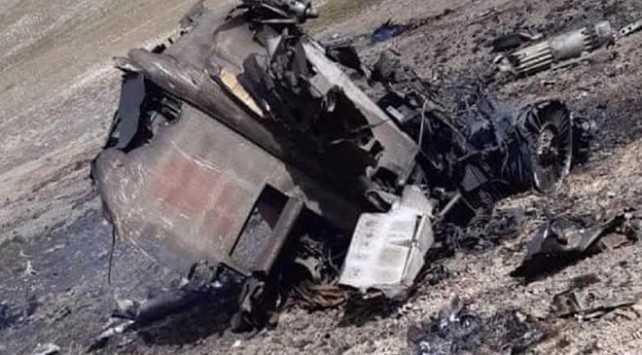 2 Ermeni uçağı dağa çarparak düştü