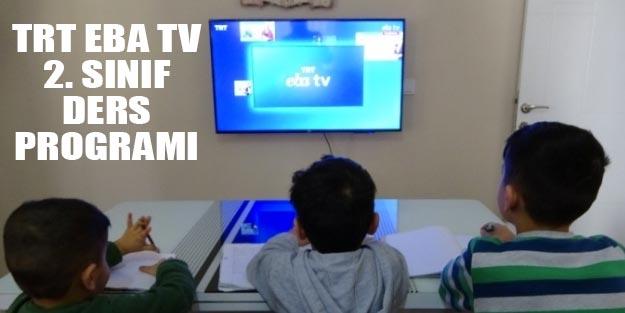 2. sınıf EBA TV çarşamba ders programı TRT EBA TV canlı 2. sınıf ders saati.