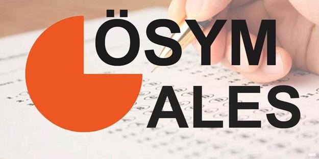 2019 ALES giriş belgeleri açıklandı