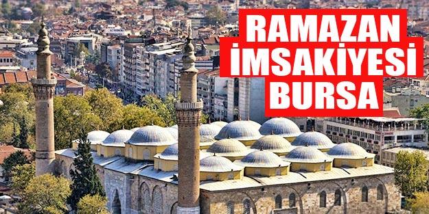 2019 imsakiye Bursa