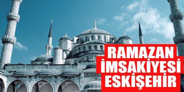 2019 imsakiye Eskişehir