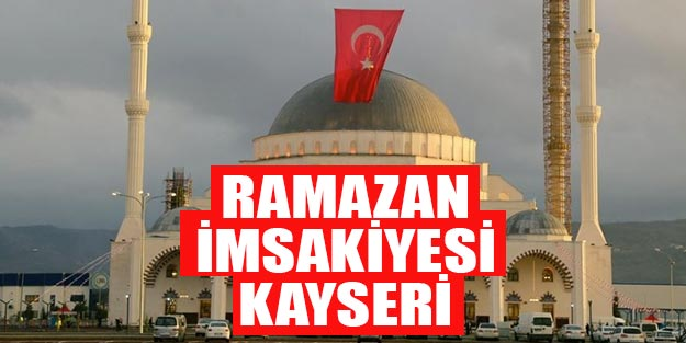 2019 imsakiye Kayseri