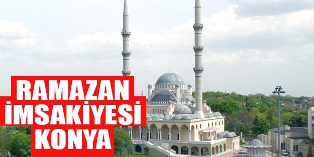 2019 imsakiye Konya
