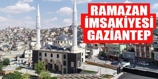 2019 Ramazan imsakiyesi Gaziantep