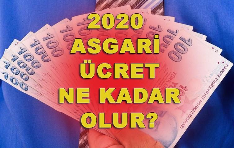 2020 Asgari ücret ne kadar olur?