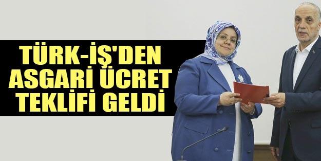 2020 asgari ücret zammı son dakika belli oldu! Türkİş'ten asgari ücret teklifi