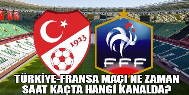 2020 Avrupa Şampiyonası Türkiye Fransa maçı ne zaman saat kaçta?