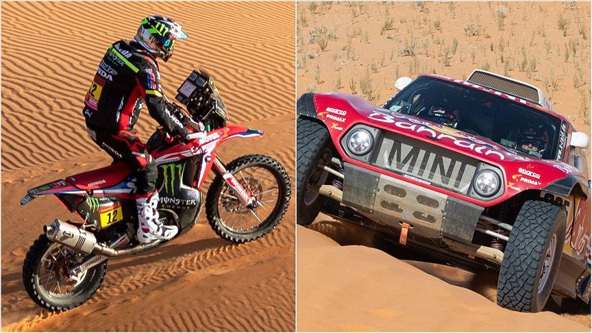 2020 Dakar Rallisi'ni otomobilde Sainz, motosiklette Barreda birinci bitirdi