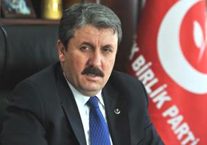 Destici: Kürtler kardeşimiz, PKK düşmanımız