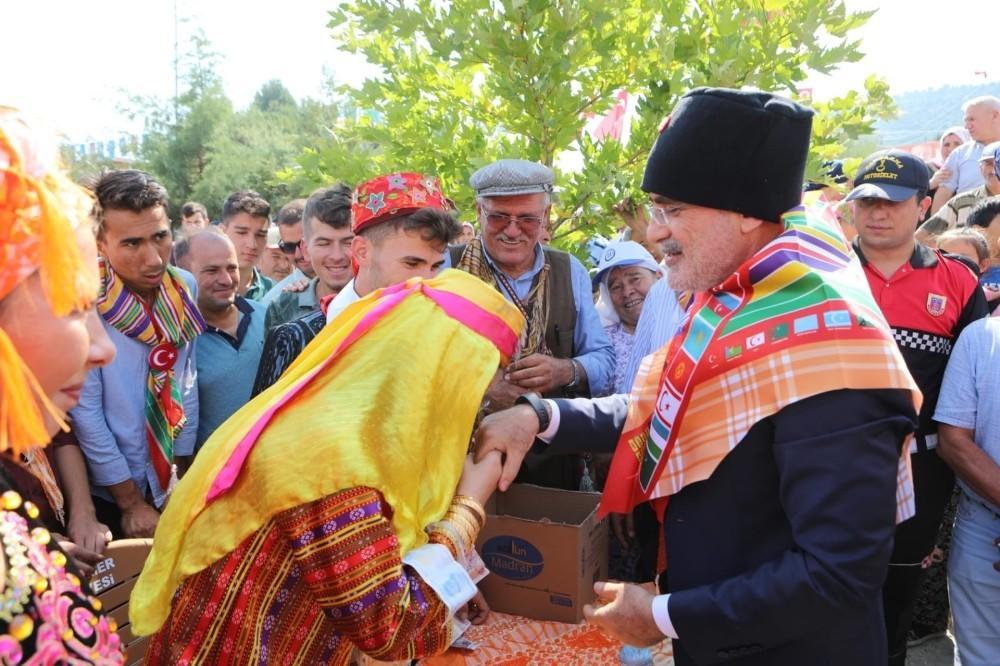 21. Uluslararası Seydikemer Beşkaza Yaylaları Boğalar Yörük Türkmen Kültür Şöleni yapıldı