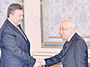 TBMM Başkanı Çiçek Ukrayna'da