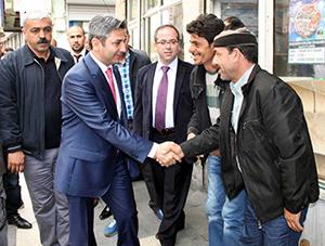 AK Partili vekiller Güneydoğu'da