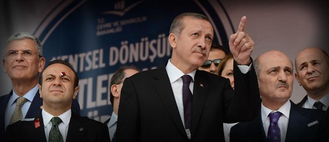 Erdoğan: Kentsel dönüşümde kararlıyız