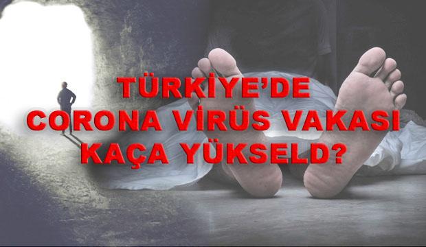 22 Mart Corona virüs vaka sayısı Türkiye