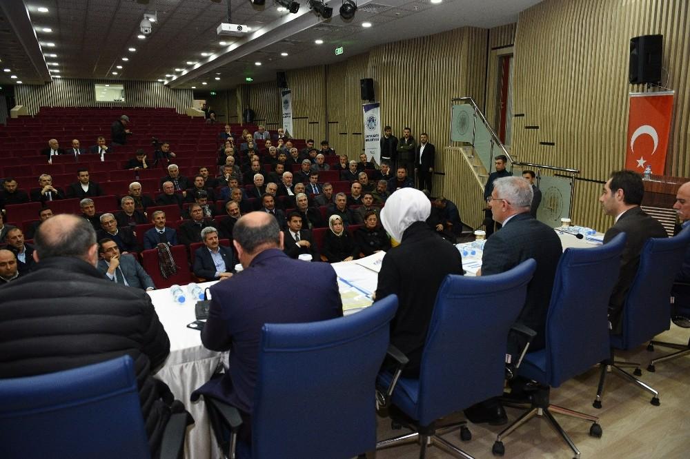 24 Ocak depremi istişare toplantısı düzenlendi