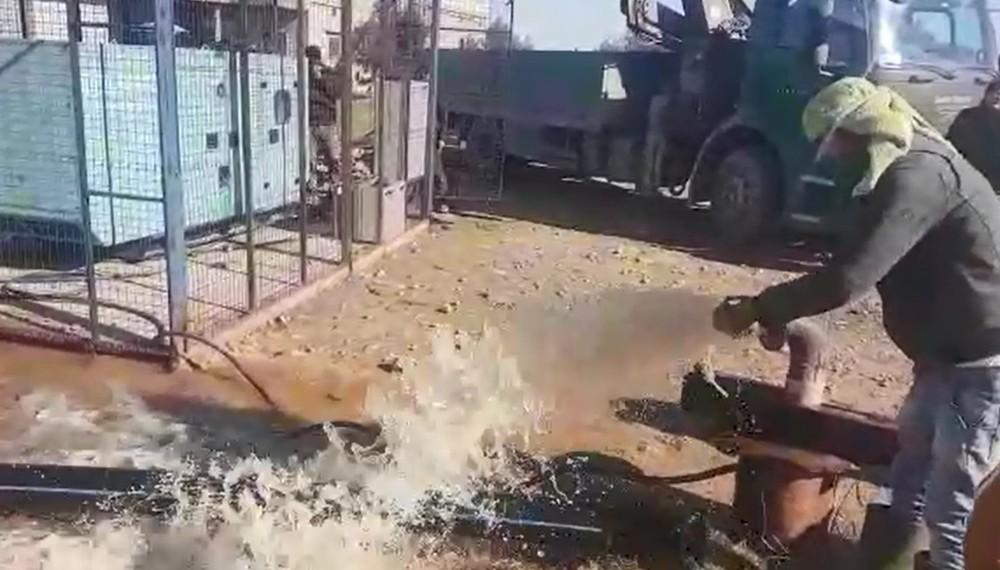 25 yıllık temiz su hasreti Barış Pınarı Harekatıyla son buldu