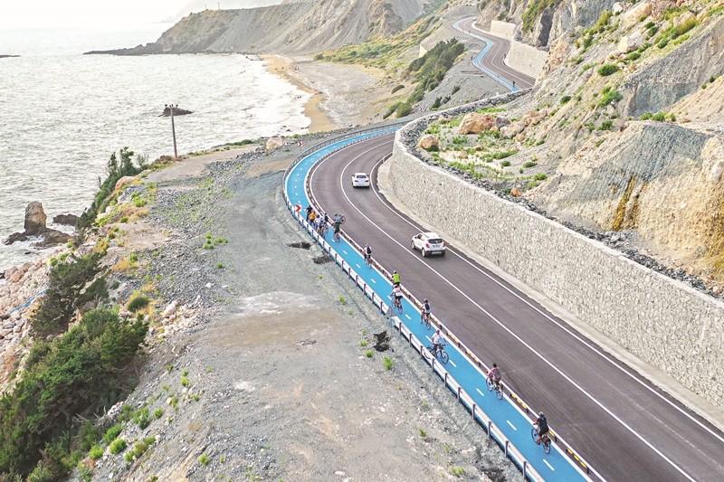 26 km'lik bisiklet yolu